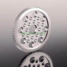 Metal 48P Spur Gear 80T Teeth 7075 For 3Racing Sakura D3 CS S XI XIS 1:10 RC Car