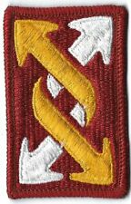 New listing Us Army 143rd Transportation Brigade Military Patch