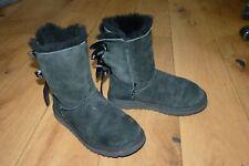 Ugg Bailey Bow Boots Black UK 5 - damaged  upper