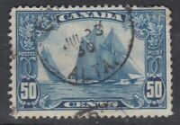 "Canada CDS Cancel Scott #158 50 cent Bluenose ""Scroll"""