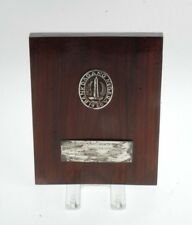 VINTAGE COMMEMORATIVE BANK PLAQUE BANK DAGANG NEGARA INDONESIA