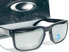 494cce2a5b4 NEW  Oakley HOLBROOK Matte BLACK Galaxy POLARIZED Mirrored   Grey Sunglass  9102