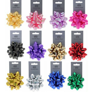 Galaxy Metallic Bow Quality Gift Present Wrap Ribbon Wedding Car Birthday Party