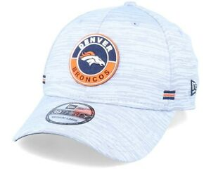 Denver Broncos New Era NFL 2020 Onfield Road 39Thirty Flexfit hat cap L/XL