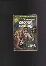 VINTAGEU.K.PB.EVAN HUNTER/ED MCBAIN.SECOND ENDING.DRUGS,HYPO COVER.