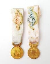 Lot 2 décorations militaires miniatures. (AV558)