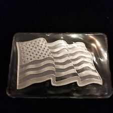Sunshine Mint 1 oz American Flag Silver Bar With Security Feature Sealed