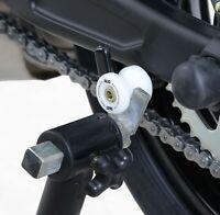 Ducati 899 Panigale 13 14 15 R&G M6 Cotton Reels   2 Pieces   White   CR0002WH