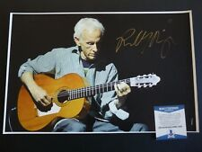 Robby Krieger The Doors Signed Autographed 11x17  Photo Beckett Certified #1