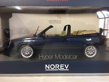 NOREV 1/18 Volkswagen Golf 3-series Cabriolet 1995 Blue Met.  Art.188434