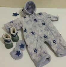 American Girl Bitty Baby doll Twins snowday Snowsuit Boots Mittens RETIRED RARE