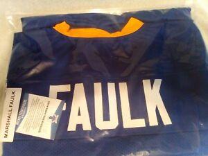 Marshall Faulk BAS Autographed Jersey