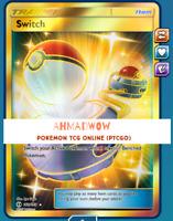 Switch Secret Rare Sun & Moon 160/149 Full Art  Pokemon TCG Online PTCGO