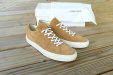 Common Projects Achilles Low Size 44 Mens US Tan Suede Made In Italy