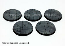 40mm Round Paved Dungeon / Temple Scenic Resin Bases Warhammer 40K