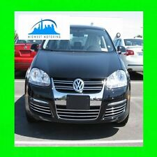 05-10 VW VOLKSWAGEN JETTA CHROME TRIM FOR GRILLE GRILL 06 07 08 09 5YR WRNTY