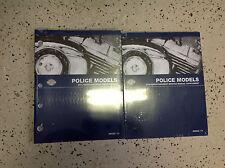 2013 Harley Davidson POLICE MODELS Parts Catalog & Service Manual Supplement