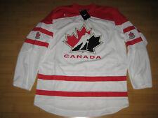 TEAM CANADA Nike IIHF Hockey White Jersey Men MEDIUM NEW with TAGS