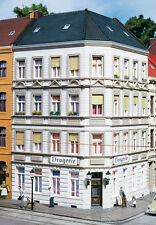 11398 Auhagen HO Kit of Schmidt Street 25 Corner House - C-10 Mint Brand New