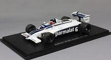 Spark Brabham BT49C Monaco F1 Grand Prix 1981 Hector Rebaque S4348 1/43 NEW
