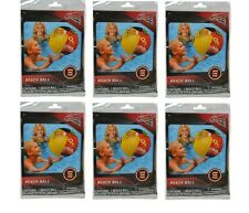 """Party Favors Disney Licensed Cars 3 Inflatable Beach Ball 20""""-6 Pack"""