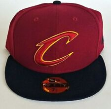 New! Cleveland Cavaliers Era 59FIFTY FITTED Cardinal 2-Tone 7 5/8 NBA CAP/HAT