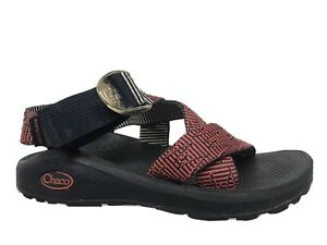 Chaco Mega Z /Cloud Multi/Water Sport Sandals  Wide Web Straps Women Sz 6/37 GUC