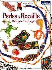 Livre PERLES de ROCAILLE Tissage enfilage Collier sujet
