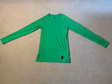 Nike Pro Hypercool men's long sleeve top   light green   medium   brand new
