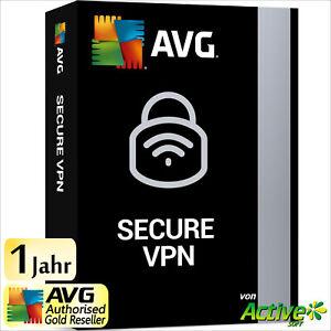 AVG Secure VPN 2021 5 Geräte 1 Jahr | Internet Security | Privatsphäre |