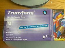 Transform 200 9889A7 Medium Examination Glove - Blue (200 Pack)
