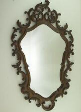Baroque Mirror Rococo Mirror Wood Wall Mirror Carving Antique Style Old 82 X