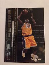 1999-00 Upper Deck MVP MVP Theatre #M3 - Shaquille O'Neal - Los Angeles Lakers