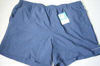 "Columbia PFG Mens Backcast II Water Trunk Shorts Blue 6"" Omni Shade 50 Size XXL"