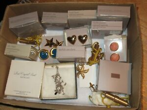 Jewelry Lot Vintage AVON Necklaces Earrings Rings Starfish  & More (51G)