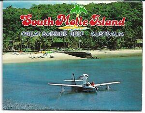 SOUTH MOLE ISLAND QLD FOLD OUT VIEWS POSTCARD