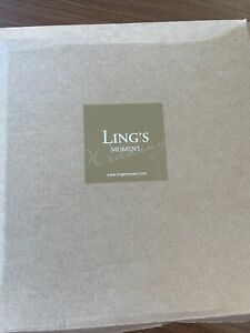 Ling's Moment Wrinkle - Free Dusty Rose Sheer Backdrop Curtains 10x10