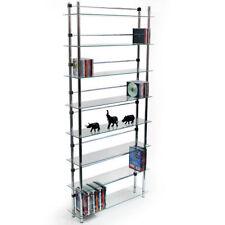 Bibliothèques, étagères et rangements transparents pour la maison