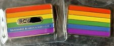 Rainbow Pride Flag Geocoin Trackable