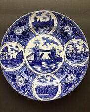 "London Pride J.H. Weatherby & Sons Hanley England Vintage Souvenir Plate 10"""