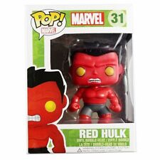"Funko Pop Vinyl Figure Marvel Universe Red Hulk Bobble-Head 4"" Figure Toy Doll"