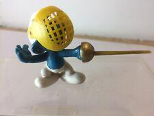 Smurfs Vintage Fencing Smurf