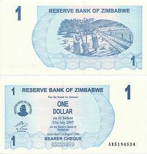Zimbabwe - 1 Dollar 2006 UNC - Pick 37