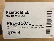FujiFilm Plastical EL UV Screen Print Ink  PEL 210 Ultra Blue 1-gallon