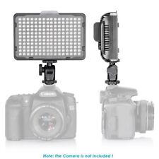 Neewer 176 LED Luz Video 5600K con Batería y Cargador USB para Canon Nikon Sony