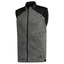 adidas Golf Mens 2020 COLD.RDY Doubleknit Sleeveless Full Zip Vest 33% OFF RRP