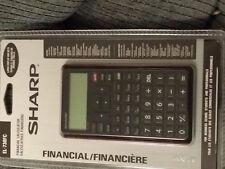 Sharp EL-738FC Large 2 line 10-digit Financial Calculator EL738FC  FREE SHIP