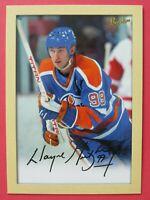 2005-06 Bee Hive Jumbo 5x7 Facsimile Auto, Wayne Gretzky #236 Oilers, Near Mint