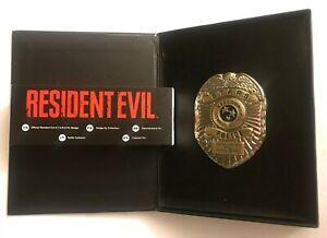 Resident Evil 3, 2 Remake R.P.D. S.T.A.R.S pin badge, Official Limited RPD Stars
