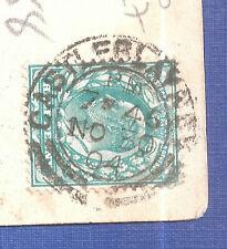 More details for castleblay monaghan rare postmark  greystones golf links  golfing sport